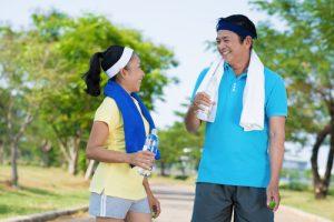 Siêng năng vận động là cách làm giảm tóc bạc ở tuổi trung niên